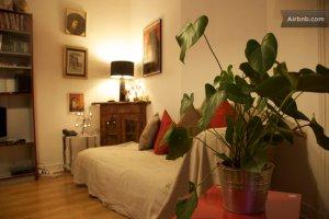 Shabby chic apartment in Paris