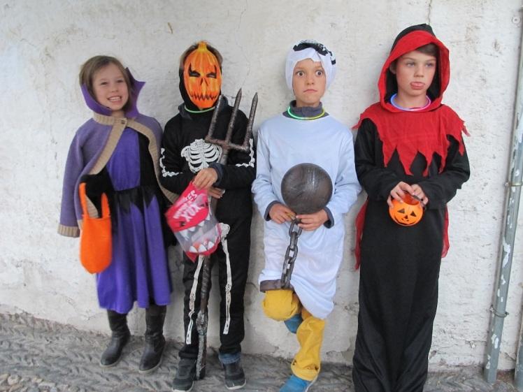 Halloween in the Albaicin