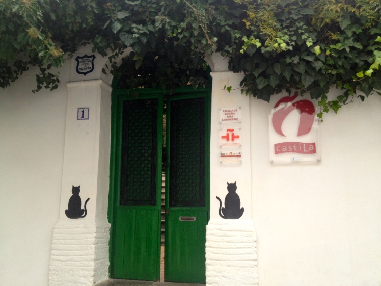 Entrance to Castila