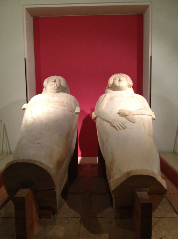 Something for me - ancient Phoenician sarcophagi from 470 BC found in Cadiz (that's 2,484 years old!!!)