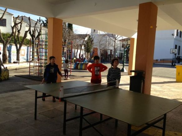 pingpong at school