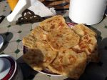 Msemmen, Moroccan crepes (yum)