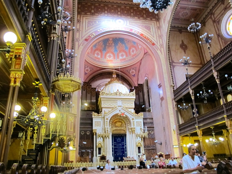 The Great Dohany St Synagogue in Budapest where my Grandparents married in 1939