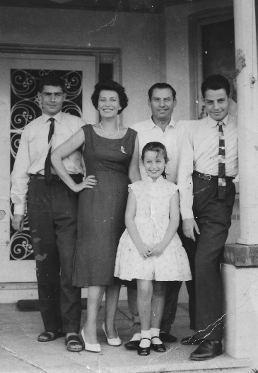 First year in Australia, my Dad and his family arrive from Hungary