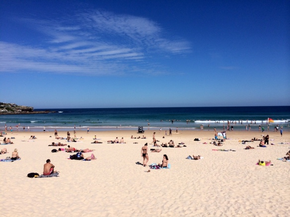 Our local beach in Sydney, Australia