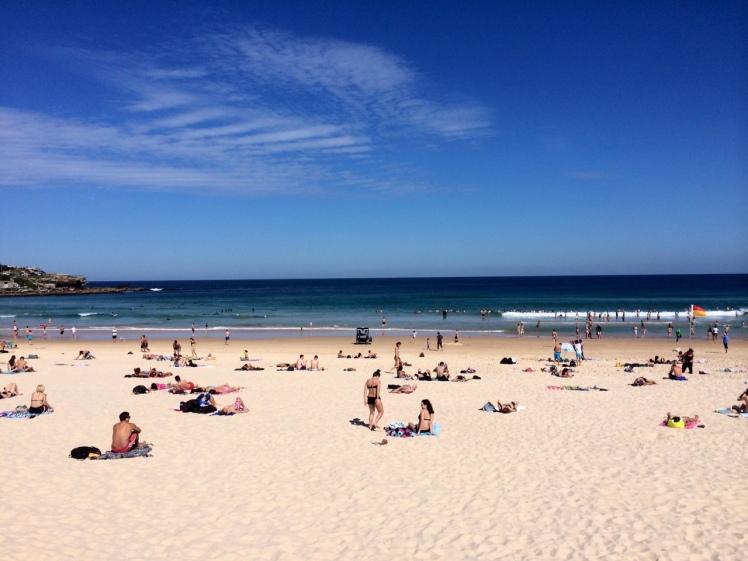 Our local beach in Sydney, Australia