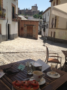 Breakfast in Granada
