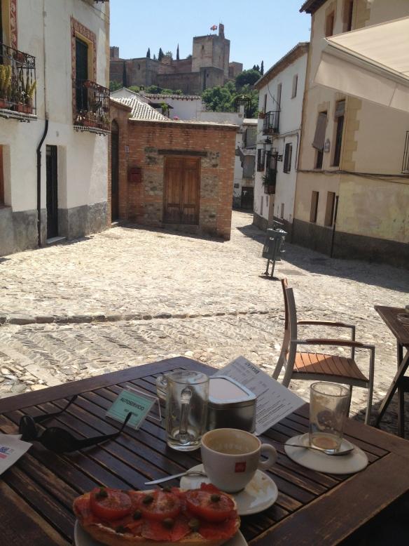 Breakfast in Spain
