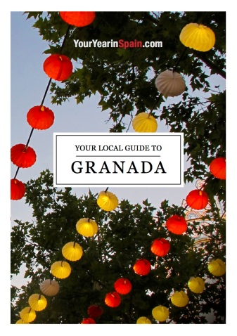 Granada guide_Cover design lanterns