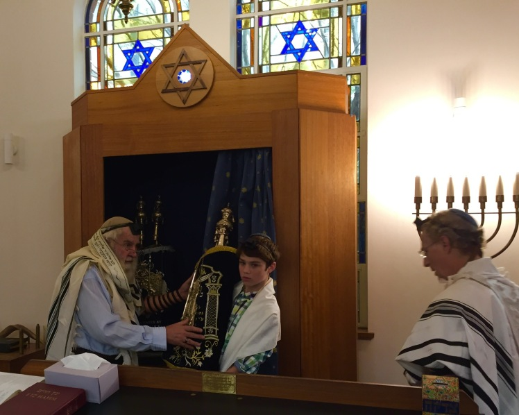 Luca bar mitzvah